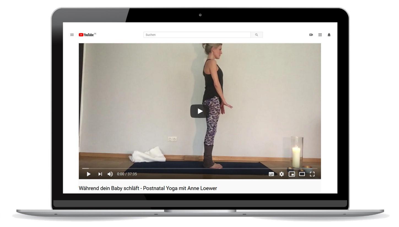 Postnatal Yoga zur Rückbildung in München