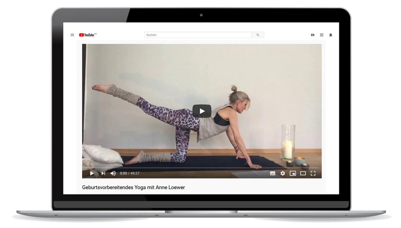Anne Loewer Yoga für Schwangere München